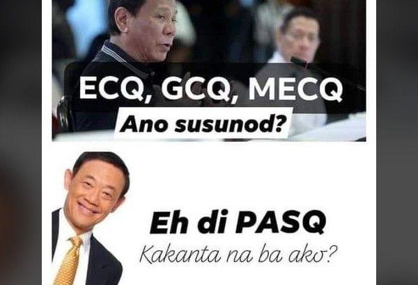 ECQ, GCQ, PSQ: Jose Mari Chan memes pop up as -Ber months draw near