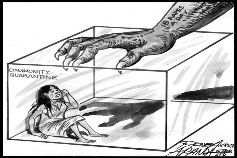 EDITORIAL - 18 rapes a day