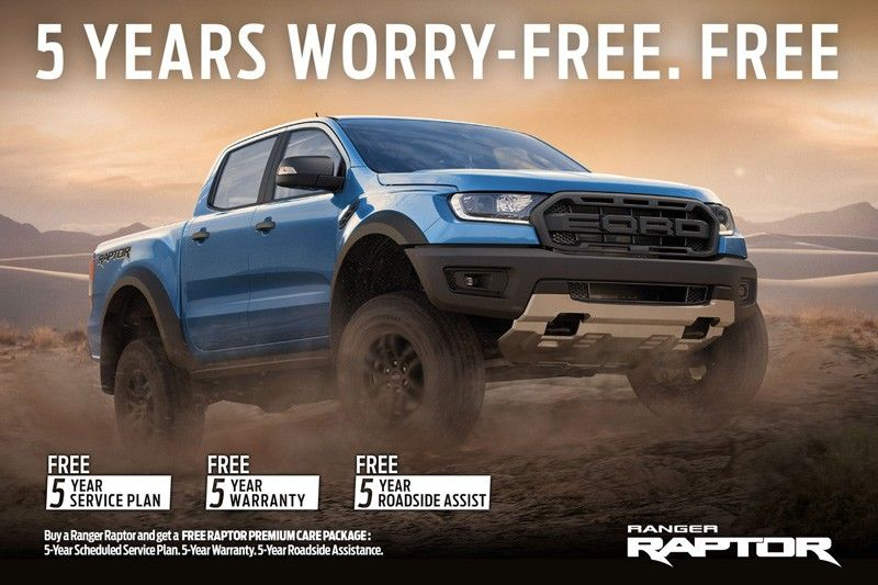 All the things you get for free when you buy the upgraded Ford Ranger Raptor 2020