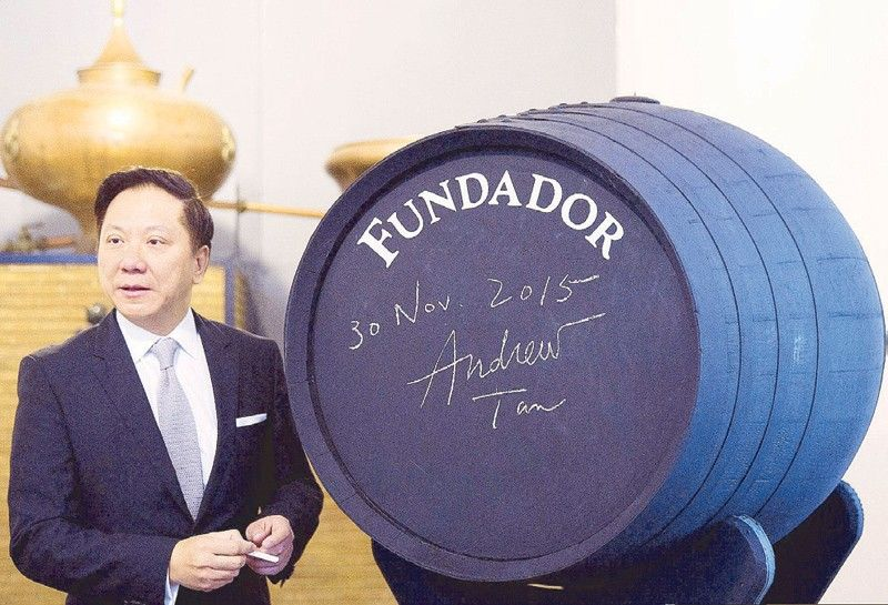 Andrew Tan at Fundador in Spain