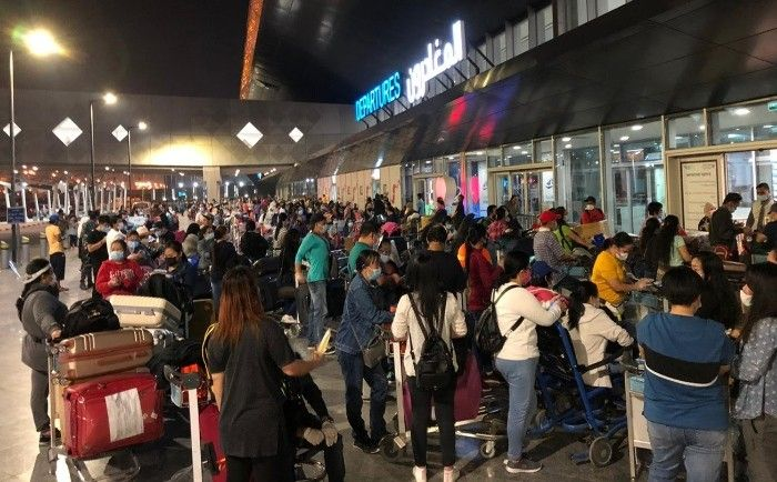 Over 7,000 Filipinos repatriated from Kuwait due to COVID-19 pandemic� DFA
