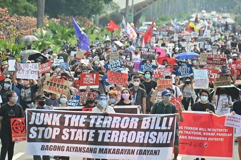 Petitioners tell SC, OSG: Canceling oral arguments on anti-terrorism law 'disservice' to public interest