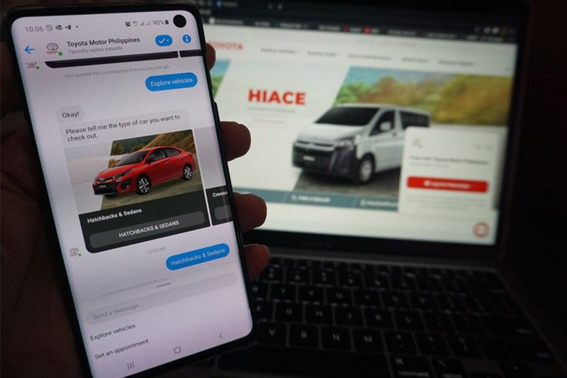 Chat with Toyota: TMP activates chat apps to connect with customers