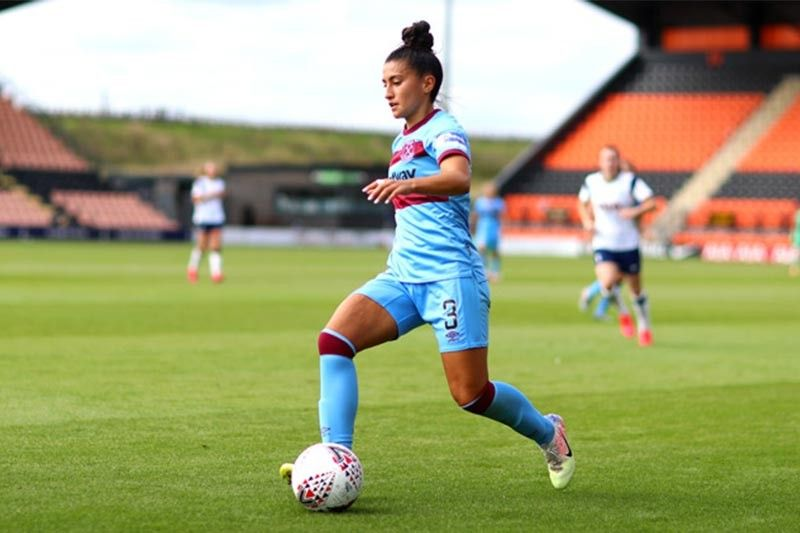 Meet the full-blooded Filipina booter in England's top football tournament