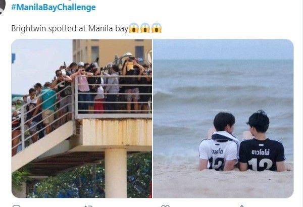 Memes flood Manila Bay 'white sand beach' opening