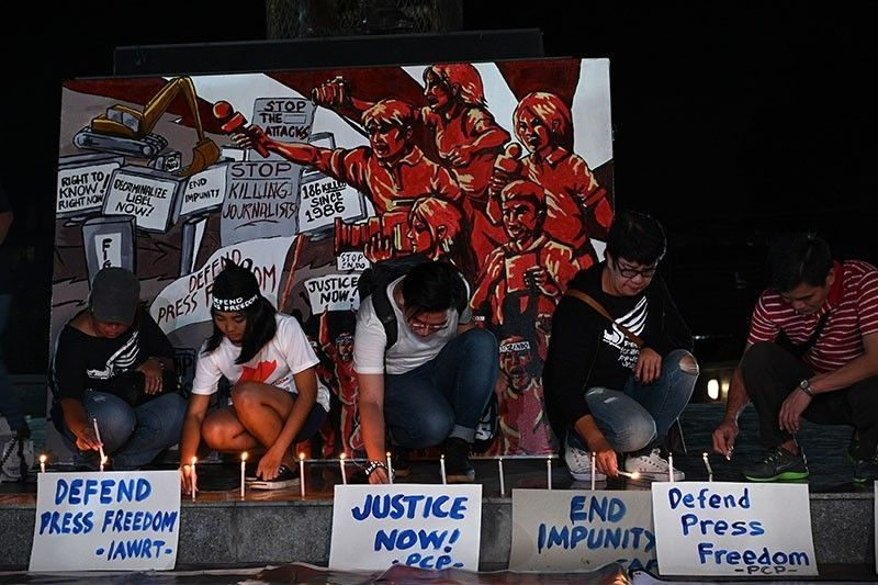 Philippines moves down two places in global impunity index