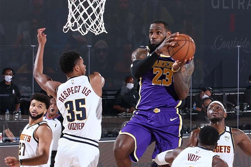 Lakers close out Nuggets, clinch Finals berth