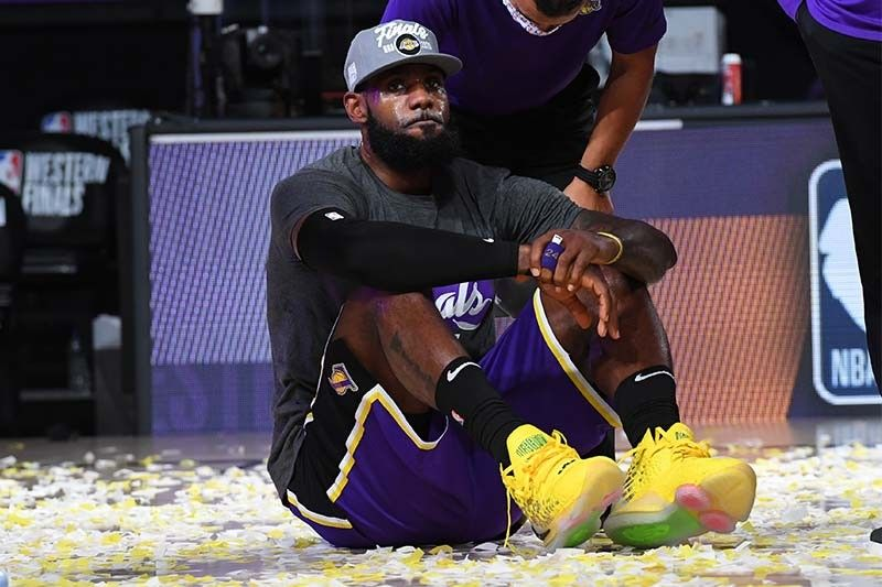 By the numbers: LeBron James in the NBA Finals