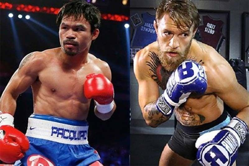 Filipino MMA star sees Pacquiao stopping McGregor