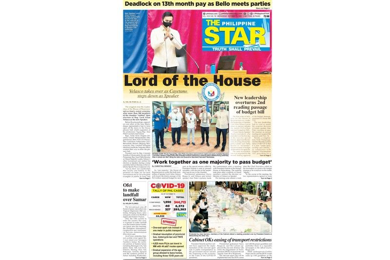 The STAR Cover (October 14, 2020)