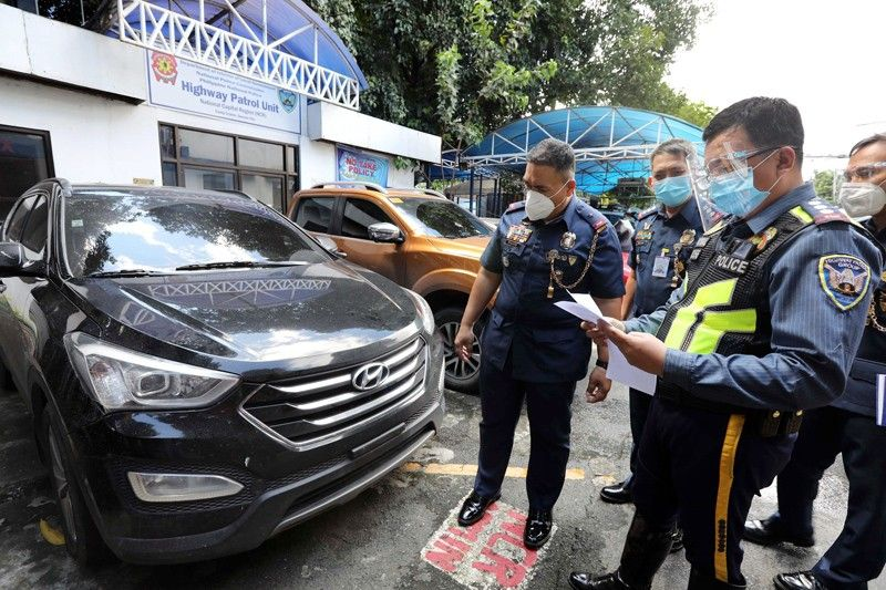 Cop nabbed for driving stolen car