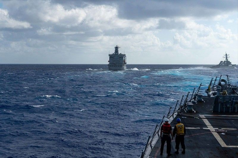 US carrier strike group resumes South China Sea operations