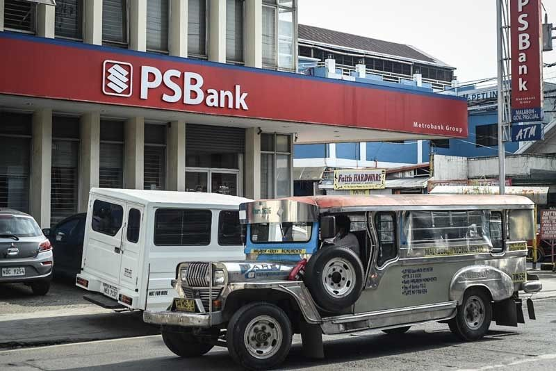 PSBank on solid ground vs rise in sound loans