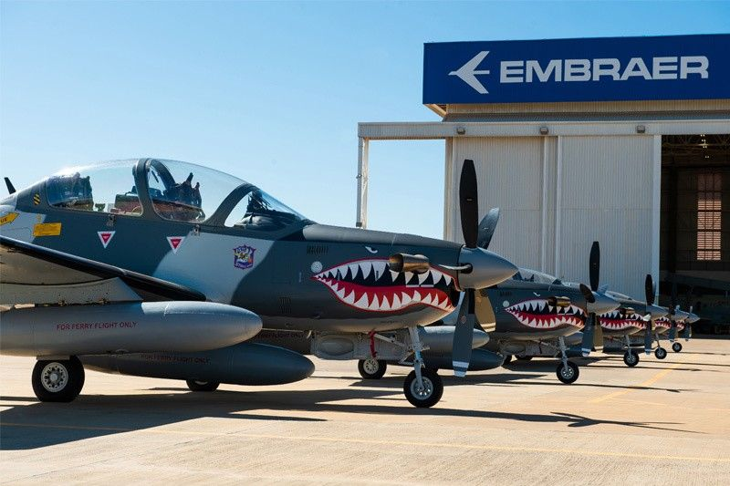 Embraer delivers six Super Tucano aircrafts to Philippine Air Force
