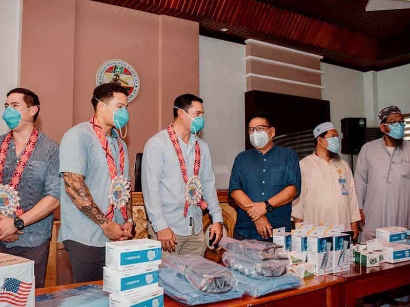 US military donates pandemic supplies to Basilan