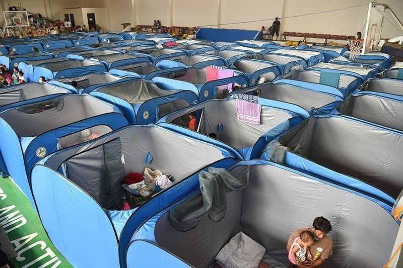 Evacuation sites at quarantine facilities tiyaking hiwalay - Palasyo