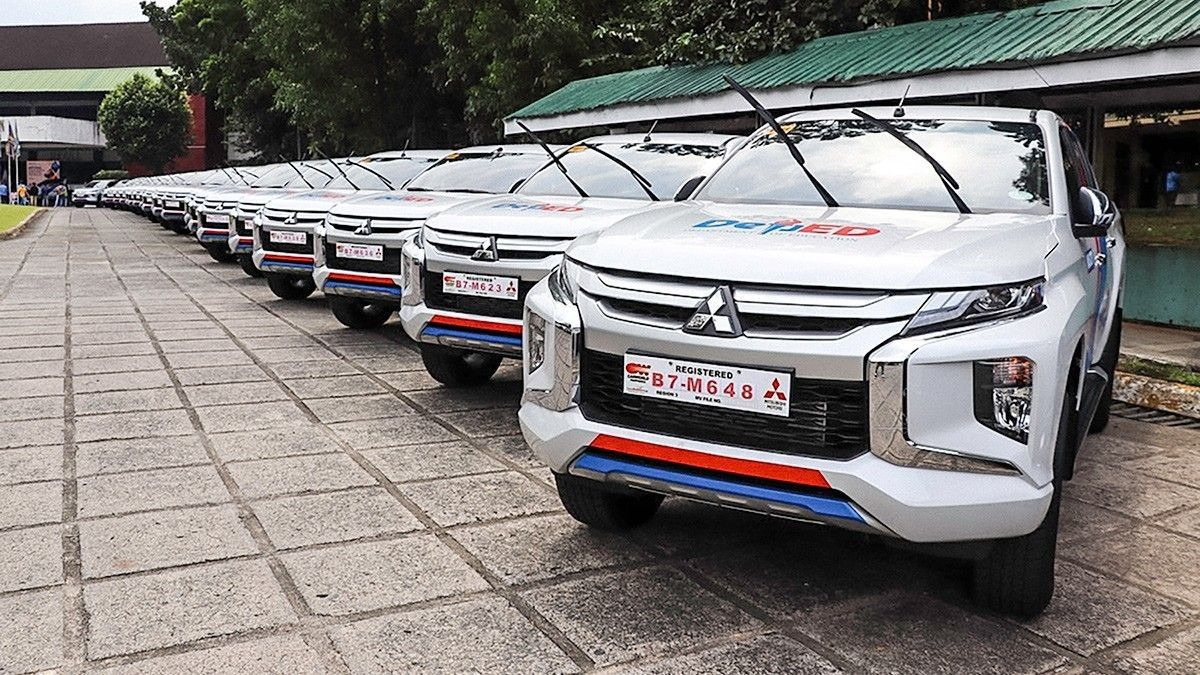 Will DepEd�s new Strada vehicles be used for modules' delivery too?