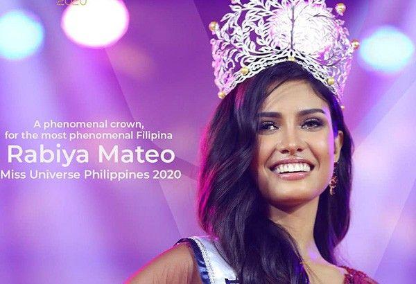 Cheating? Miss Universe Philippines 2020 Rabiya Mateo answers those 'bitter about my success'