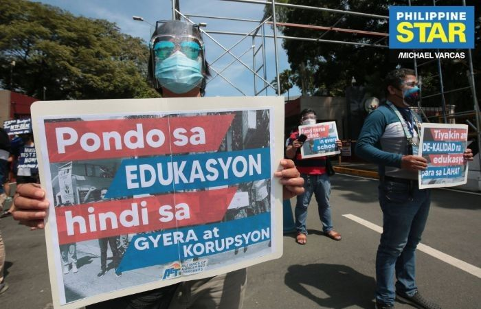 Teachers� group: Anti-communist task force funds should go into education instead