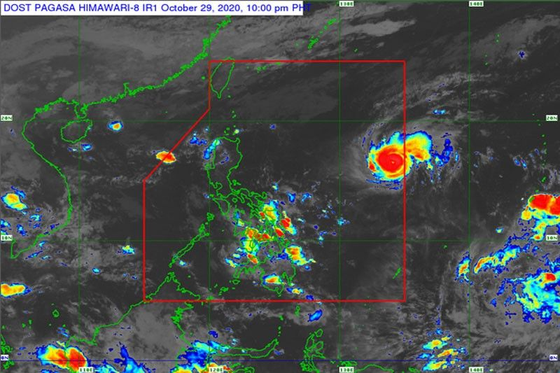 Rolly enters PAR, may intensify into typhoon