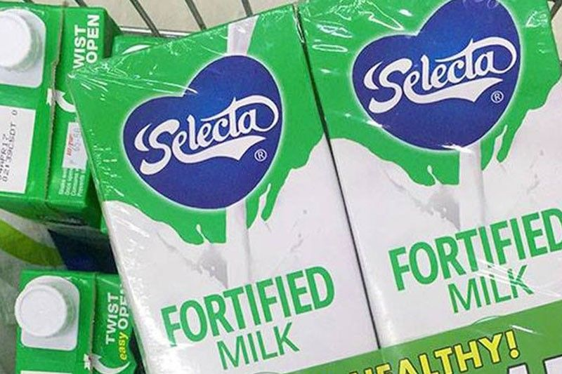 Selecta Fortified Milk cements No. 1 position