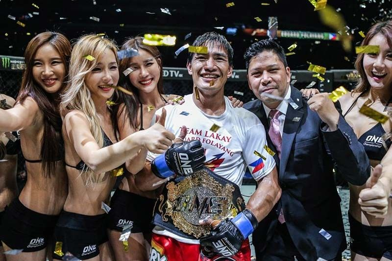 Eduard Folayang stakes career in ONE: Inside The Matrix