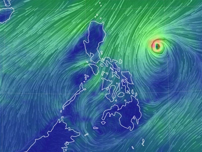 PAGASA: �Rolly� may become a super typhoon in 12 hours