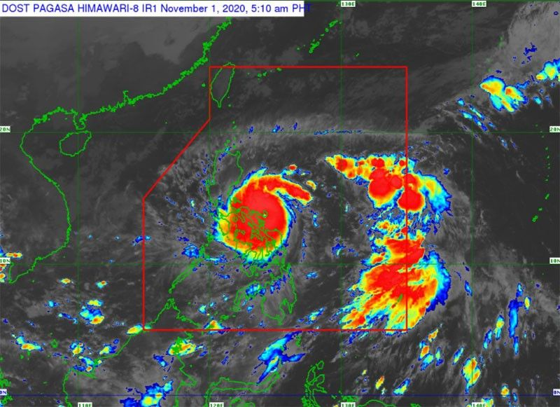 Super typhoon Rolly makes second landfall in Albay