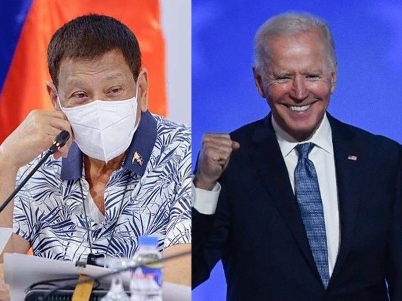 Commentary: Why Duterte won�t rock the boat for Joe Biden