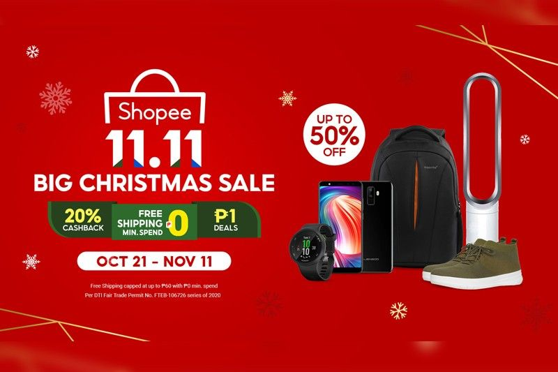 Treat yourself to the best deals at Shopee 11.11 Big Christmas Sale