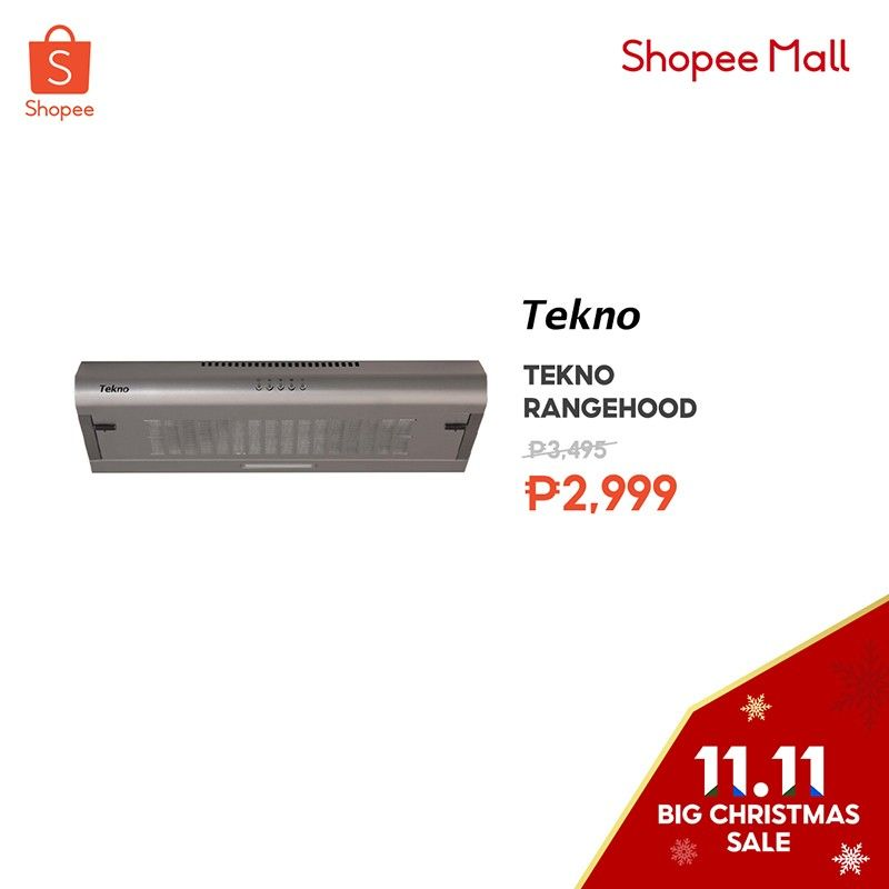 Treat yourself to the best deals at the Shopee 11.11 Big Christmas Sale