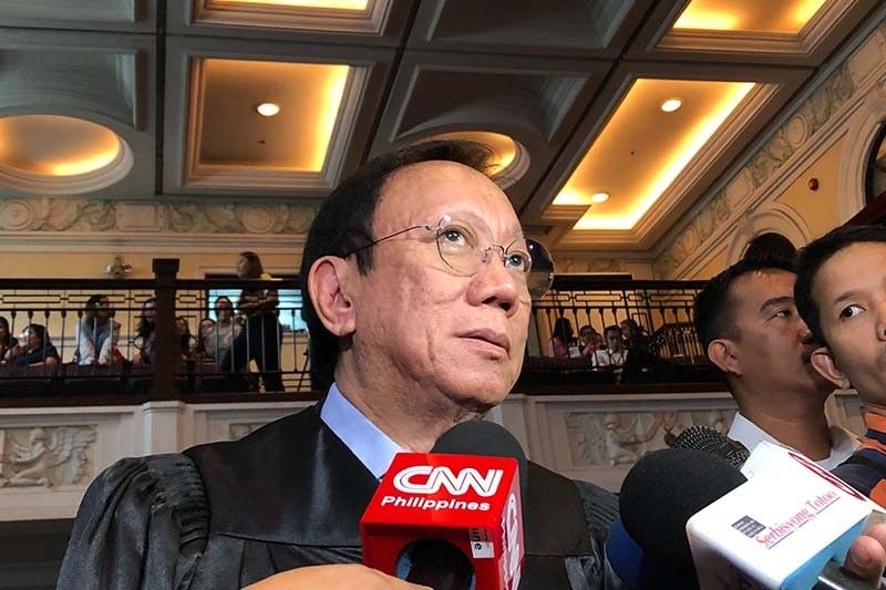 SC rejects Marcos move to keep Leonen out of poll protest, tells Calida to explain self