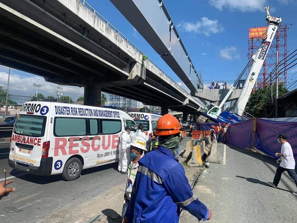 1 dead, 4 hurt after Skyway steel girder collapses