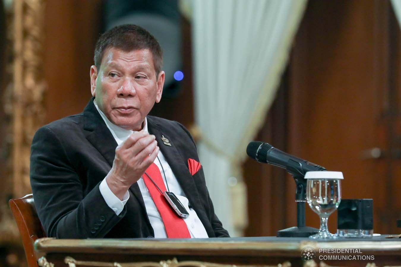 Ensure access to COVID-19 vaccine, Duterte tells APEC