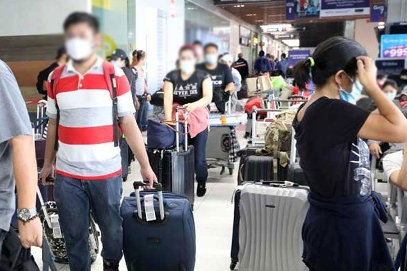 COVID-19 pandemic sends nearly 320,000 OFWs back home