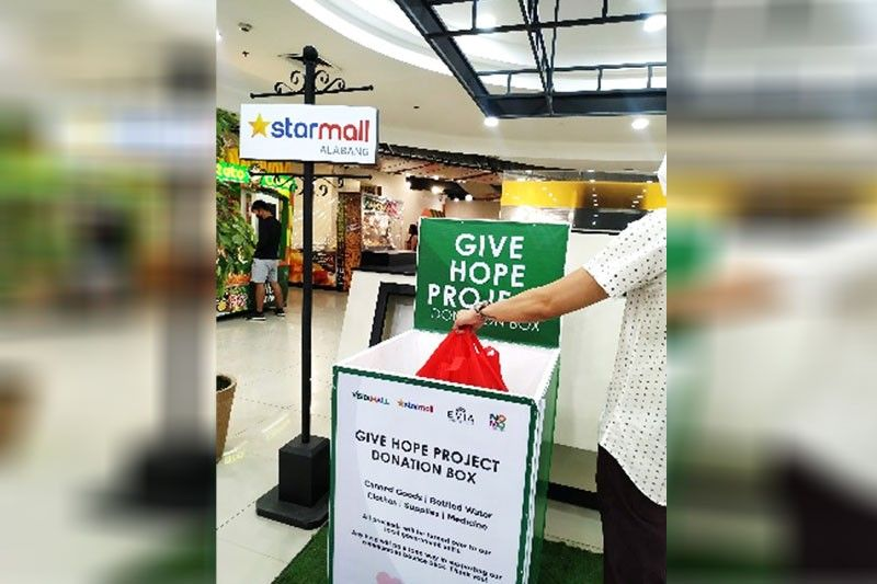 Vista Mall, Starmall launch Give Hope Project