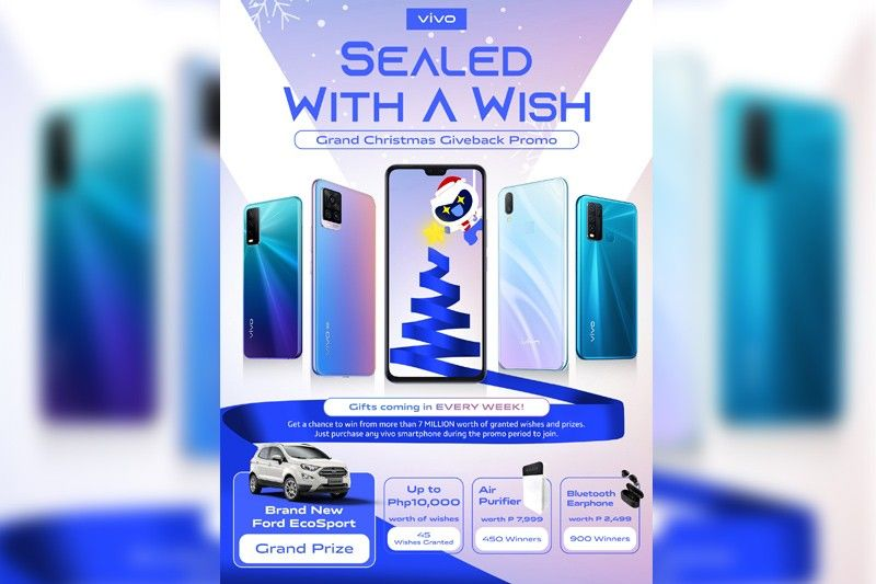Win a Ford EcoSport, P10,000 worth of items from vivo Christmas promo