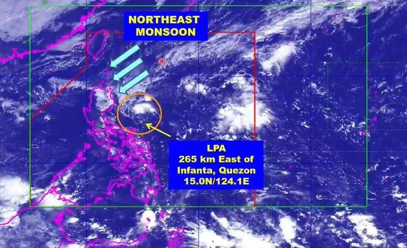 Bagong sama ng panahon 'palapit sa Isabela-Cagayan area' � PAGASA