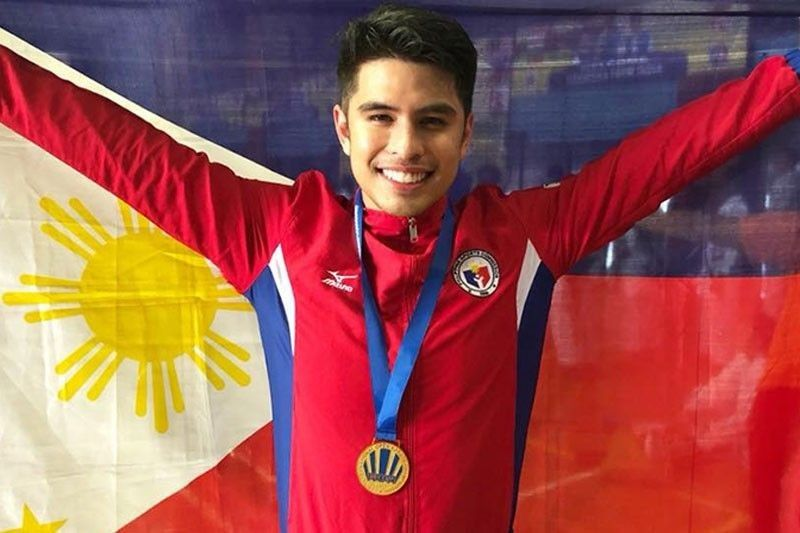 Delos Santos bests Hungarian foe to bag 25th online karate gold