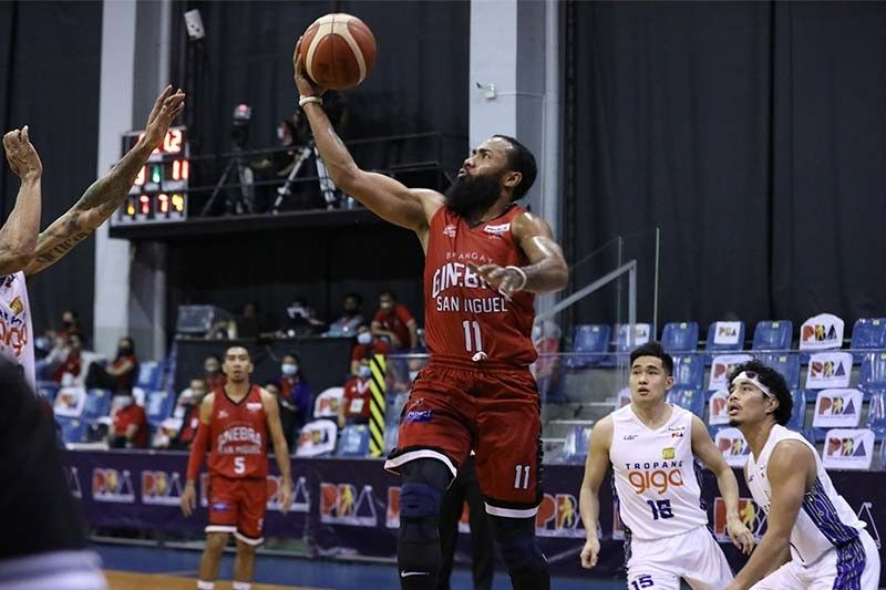Gin Kings survive Pogoy's 38 points, take 2-0 lead over Tropang Giga