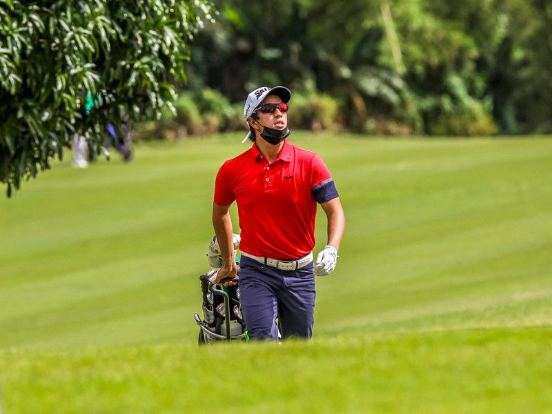 Concepcion sparkles with 66, leads Que by 1 in ICTSI golf tourney