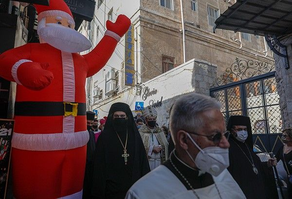Holy Land also struggling to make Christmas 'merry' due to pandemic