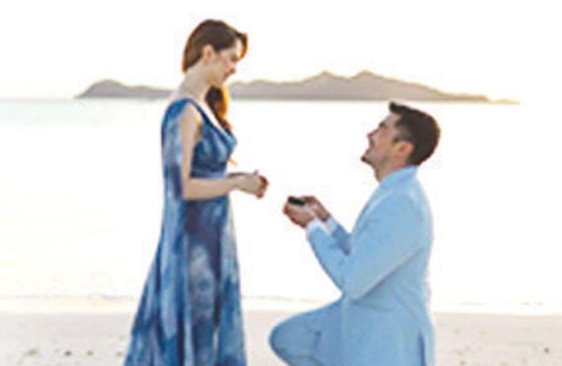 Luis at Jessy engaged na, singsing ang laki ng bato