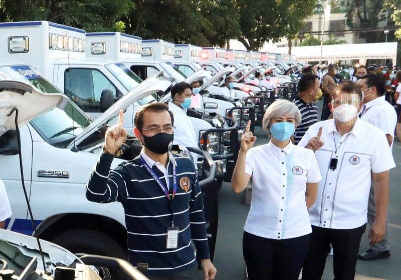 Manila acquires 12 ambulances