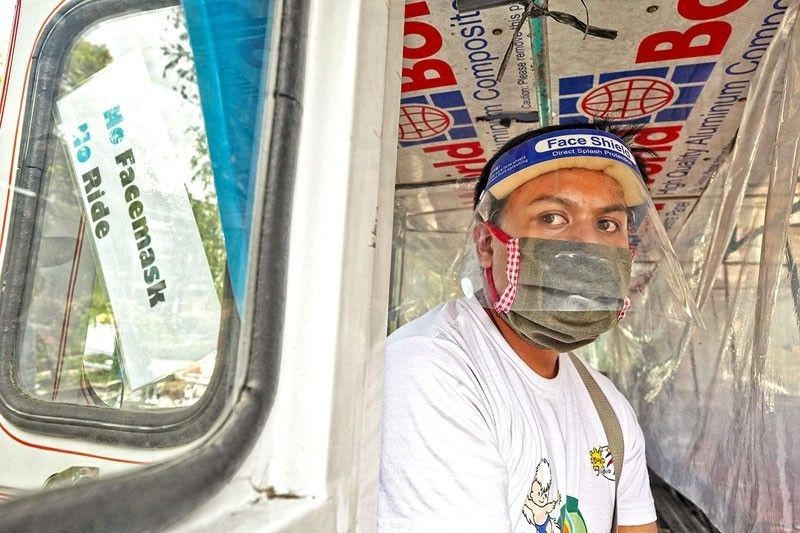 DOH: Face shields not advisable for everyone