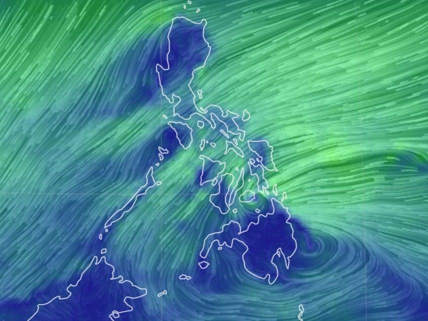 'Vicky' keeps strength as it moves toward Davao Oriental for landfall