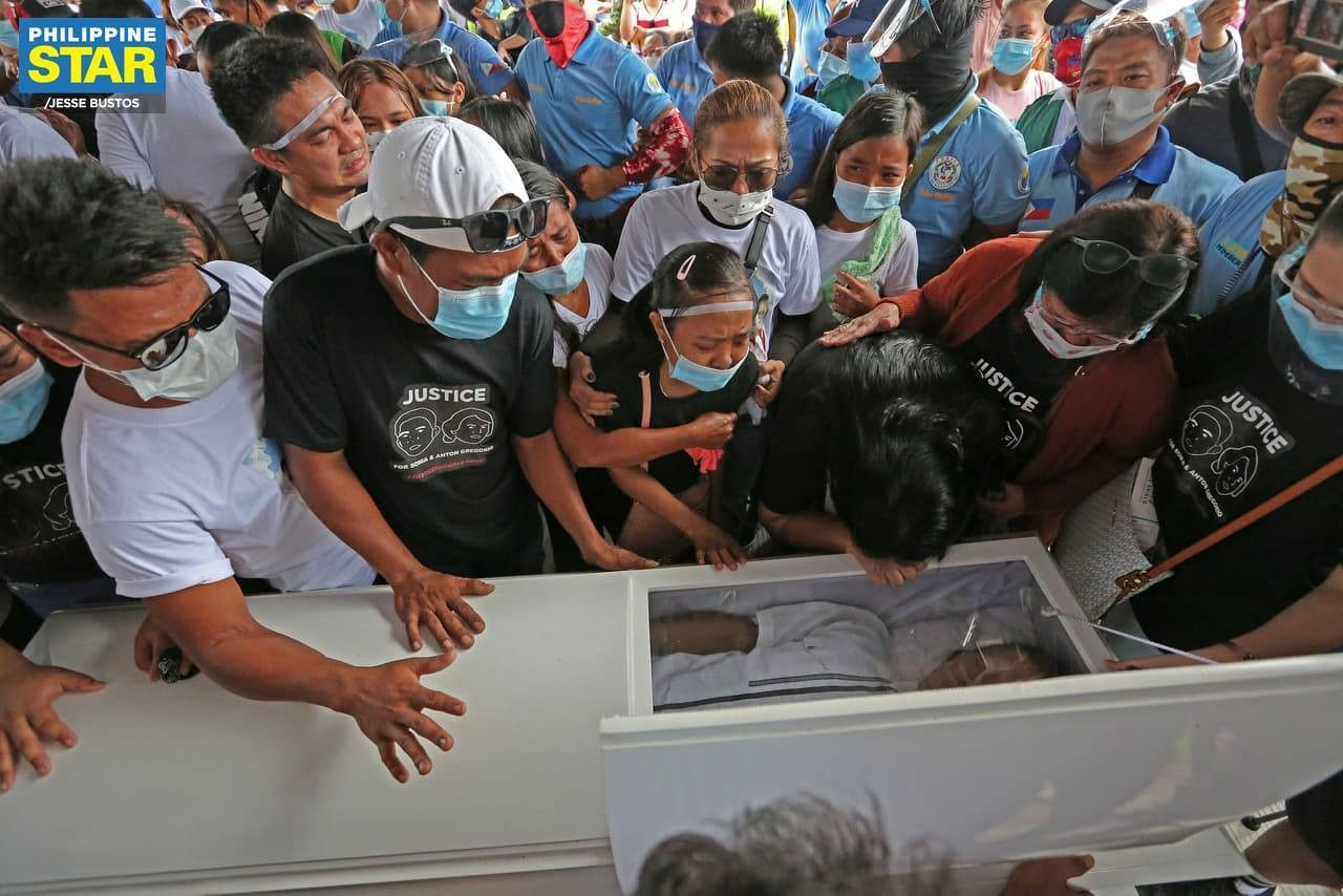 Paniqui shooting victims Sonya and Frank Gregorio laid to rest