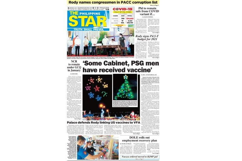 The STAR Cover (December 29, 2020)