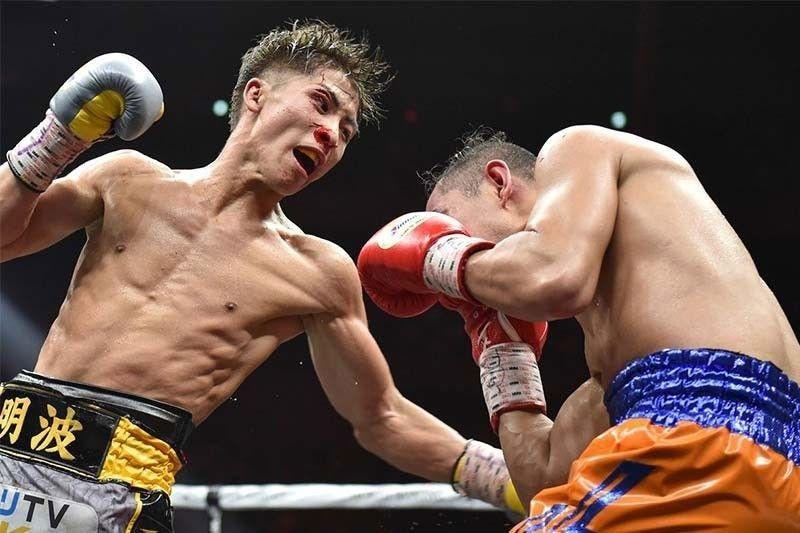 Inoue pulverizes Filipino challenger Dasmariñas via 3rd round TKO