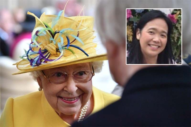 Filipina nurse receives British Empire Medal by Queen Elizabeth for pandemic response